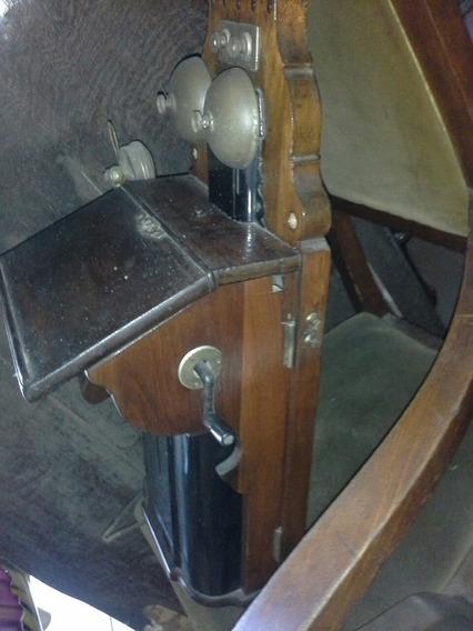 Antiguo Teléfono De Pared