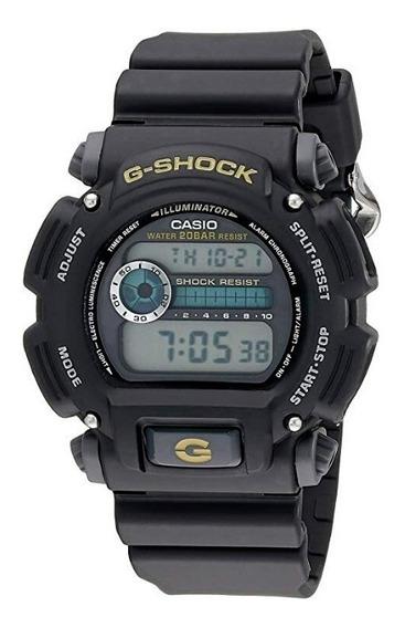 Relógio G-shock Dw9250-1bcg Preto Excelente Estado