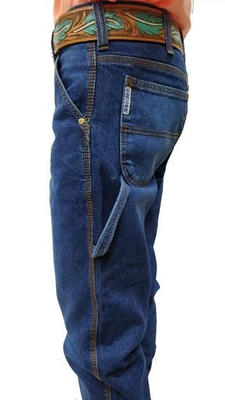 Calça Jens King Farm Carpinteiro Blue ( Corte Cinch)