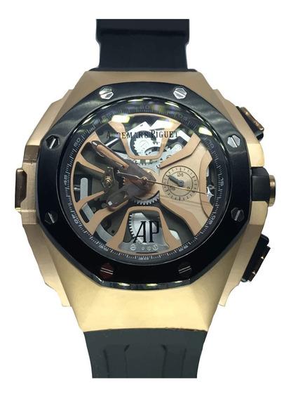 Reloj Audemars Piguet Laptimer Oro Rosa Caucho 54mm 110ap