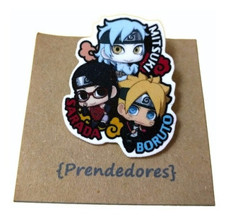 Prendedor Boruto Anime Naruto Shippuden