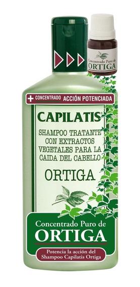 Anticaída Capilatis Ortiga Shampoo + Concentrado