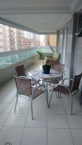 Imagem 1 de 24 de Apartamento, 2 Dorms Com 115 M² - Tupi - Praia Grande - Ref.: Pr1212 - Pr1212