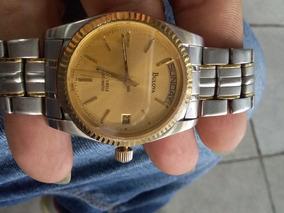 Relógio Bulova Automático Suíço Calendário Estilo Presidente