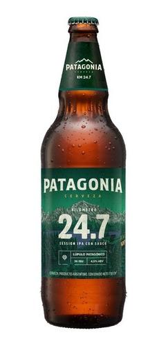Cerveza Patagonia 24.7 730ml X6