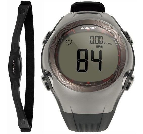 Relógio Monitor Cardíaco Multilaser Frequencímetro+calorias