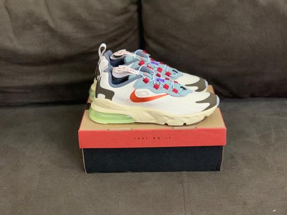 Tênis Nike Air Max 270 React Travis Scott Cactus Trails (ps)