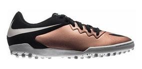 Chuteira Nike Masculino Hypervenomx Pro Tf Bronze/pto