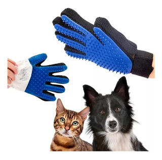 Guante Para Cepillar Mascotas Quita Pelo Perro Gato /e