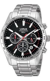 Reloj Seiko Para Hombre Rt343dx9 Lorus Tablero Color Negro