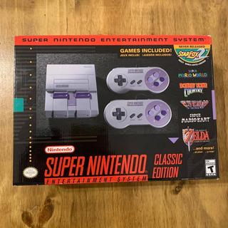 Consola Super Nes Classic Nintendo Mini Original Fisica Nuev