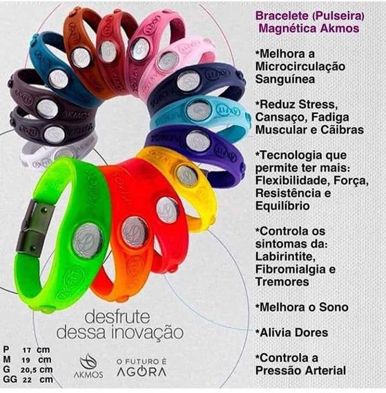 Bracelete (pulseira) Magnética Akmos