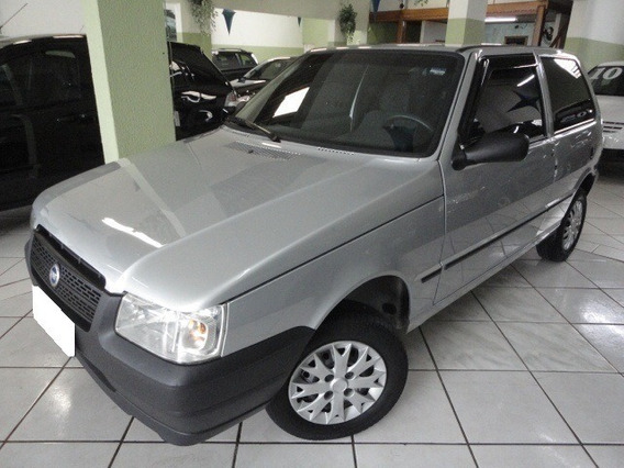 Fiat Uno Mille Fire 1.0 Prata Gasolina 2p Manual 2005