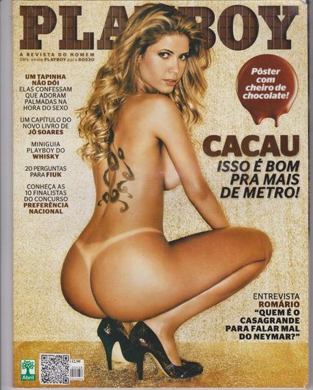 Revista Playboy Cacau N° 320438 - Jfsc
