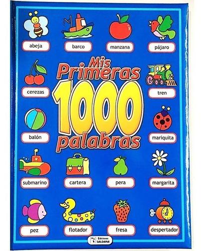 Libro Infantil Para Iniciacion Mis Primeras 1000 Palabras