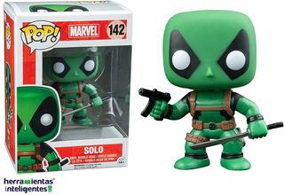 Solo Deadpool Verde Funko Pop Marvel