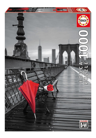 Puzzle 1000 Peças Ponte Do Brooklin - Educa - Importado Grow