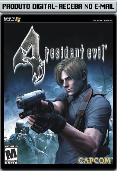 Resident Evil 4 - Pc - Envio Digital