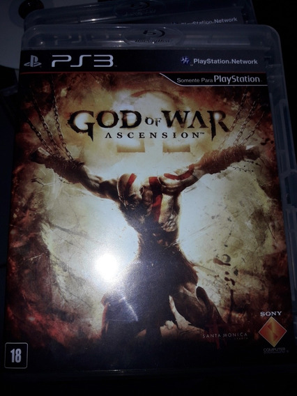 God Of War Ascension. Ps3 . Original