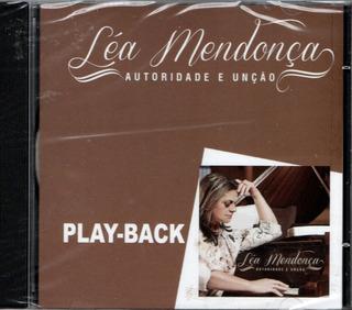 Cd Léa Mendonça - Autoridade E Unção - Play-back