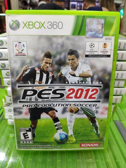 Jogo Pes 2012 Xbox 360, Mídia Física Usado