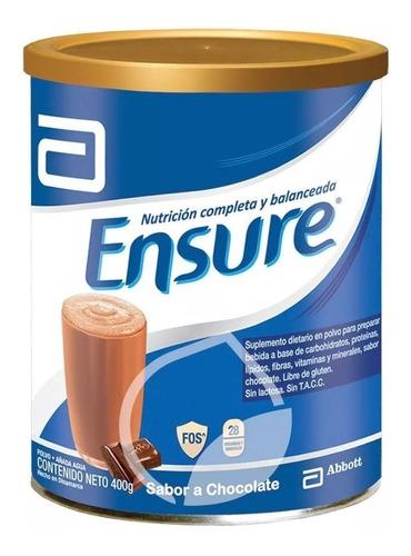 Ensure Polvo 400g Multivitaminico Sabor Chocolate Vitaminas