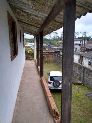 Casa No Balneário Gaivota, Em Itanhaém, Ref. C1420 L C