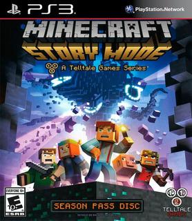 Minecraft Story Mode Season Pass Ps3 Español Gcp