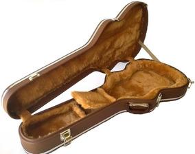 Case Para Guitarra Semi Acustica EpiPhone Fender Marrom