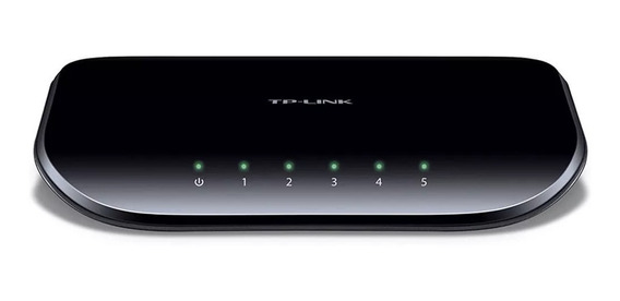 Switch 5 Bocas Tp-link Tl Sg1005d Gigabit 10/100/1000