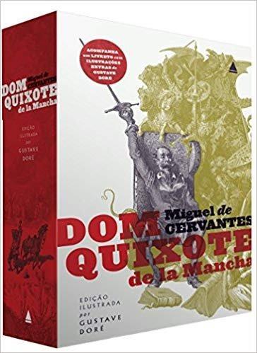 Box Dom Quixote Ilustrado +guia Hbo E Guerra Dos Tronos