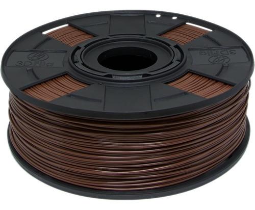 Filamento Abs Premium 1,75 Mm 500g Impressora 3d Marrom