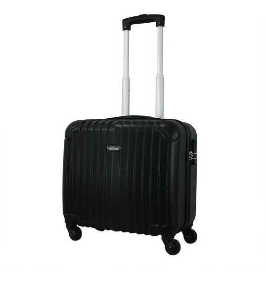 Maleta De Mano Abs 16 Pulgadas Eurotravel Carry On 4 Ruedas