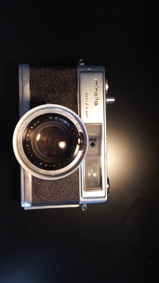 Câmera Máquina Fotográfica Analógica Minolta Hi-matic 9