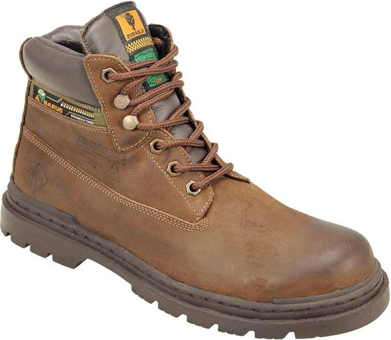 Bota Adventure Usually Antares Couro Cano Alto Albarus 8700