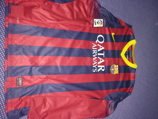 Camisa Barcelona 2013-2014 Puyol