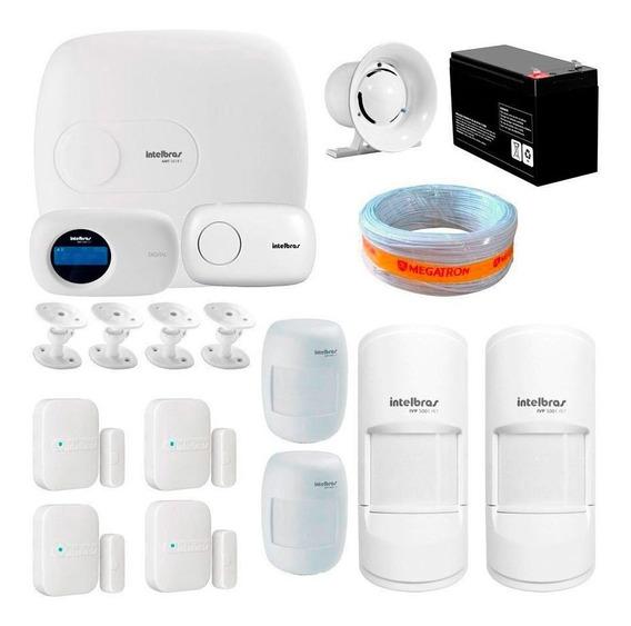 Alarme Residencial Completo 8 Sensores Aplicativo Intelbras