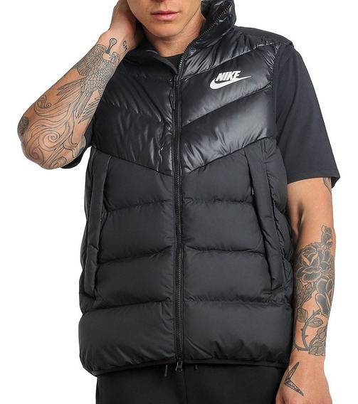 Chaleco Nike Down Fill Black Original Hombre