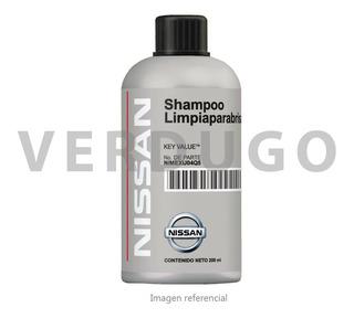 Shampoo Limpiaparabrisas Nissan - 5 Botellas 200ml
