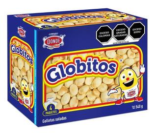 Globitos 540g.- Galletas Dondé
