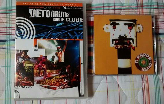 Cd O Rappa Mundi - Dvd Detonautas Roque Clube