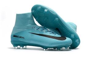 sneakers for cheap 9d1fa 33b18 Nike Mercurial Superfly V Fg Azul Promoção
