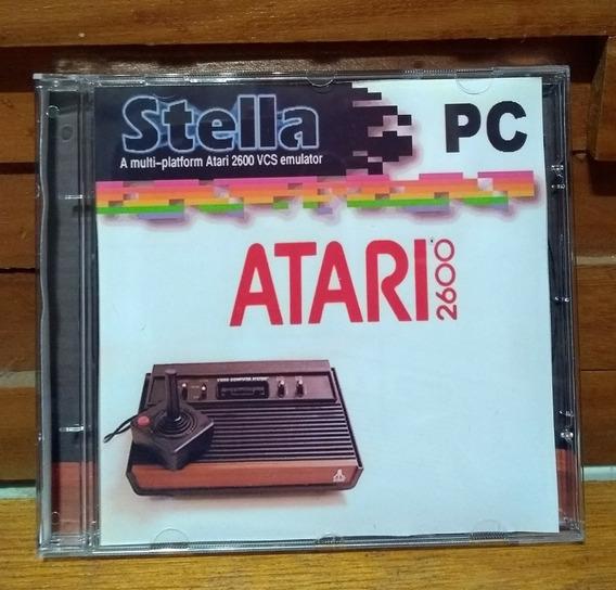 Emulador Atari 2600 - Pc / Notebook Com Todos Os Jogos