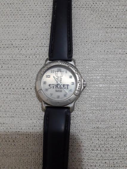Relógio De Pulso Yankee Street Antigo Catraca Giratória