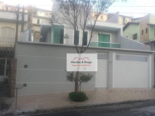 Sobrado À Venda, 300 M² Por R$ 990.000,00 - Jardim Guapira - São Paulo/sp - So0192