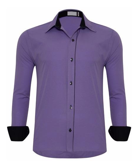 Camisa Social Slim Fit Masculina Pronta Entrega 2020 Atacado