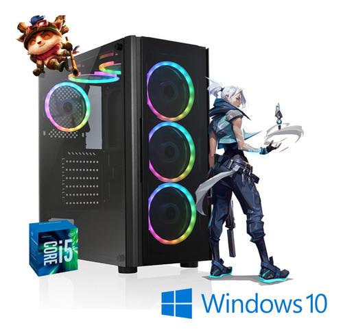 Imagem 1 de 1 de Cpu Gamer Core I5 8gb 500gb Rx550 4gb Fonte 500w Windows 10.