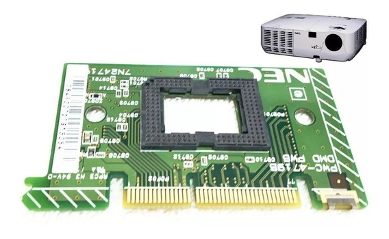 Placa Dlp Sem O Chip Dmd Do Projetor Nec Np115