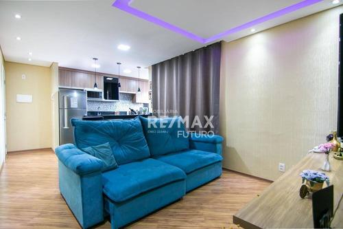 Apartamento Com 2 Dormitórios À Venda, 71 M² Por R$ 259.999,00 - Bosques Da Vila Bairro: Jardim Petrópolis - Cotia/sp - Ap0024