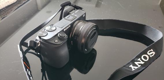 Sony A6300 Com Lente Do Kit 16-50